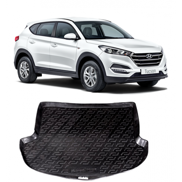 Covor Protectie Portbagaj Hyundai Santa Fe II Facelift
