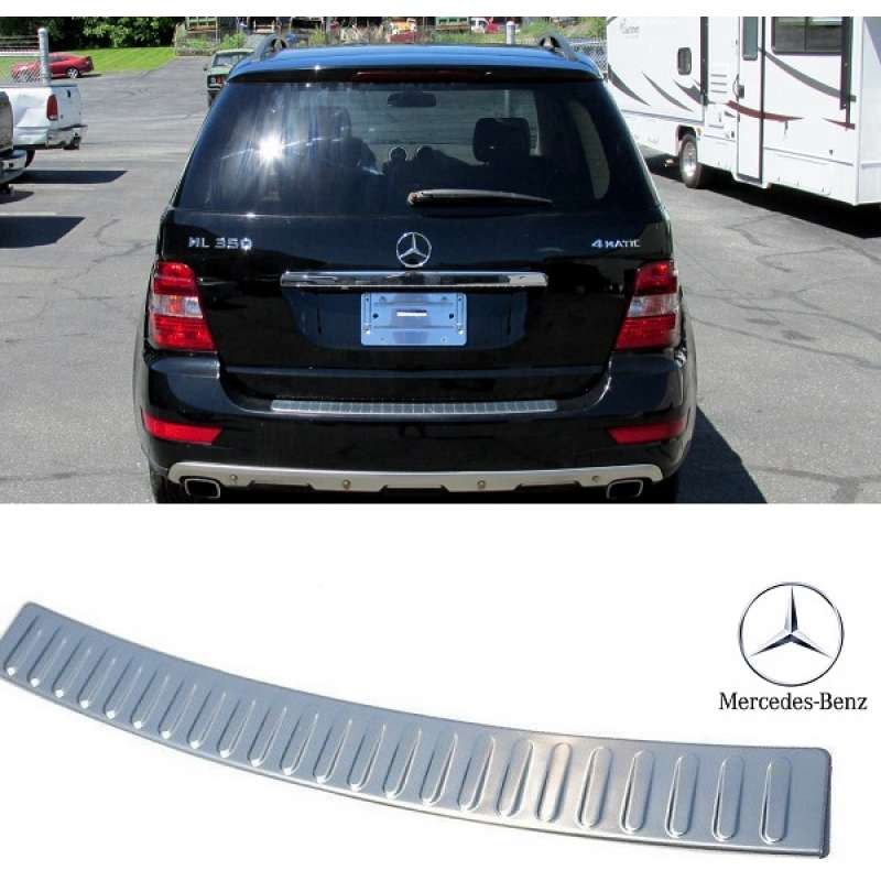 Ornament inox portbagaj mercedes benz ml 2005 2011 w164 for Mercedes benz ornaments