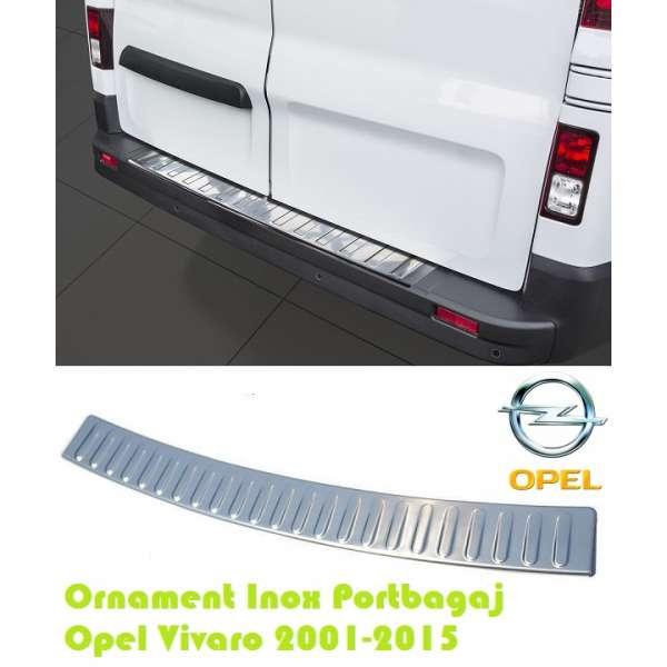 Ornament Inox Portbagaj Opel Vivaro 2001-2015