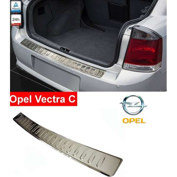Ornament Inox Portbagaj  Opel Vectra C Sedan/Break Combi 2002-2008