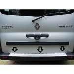 Ornament Inox Portbagaj Renault Trafic II 2001-2013