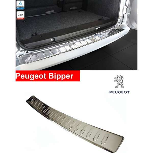 Ornament Inox Portbagaj Peugeot Bipper 2007-2016