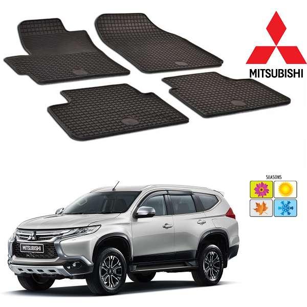 Set covorase auto Hitech din cauciuc  Mitsubishi Pajero 2014-2016