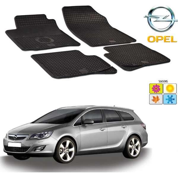 Set covorase auto Hitech cauciuc Opel Astra J 2009-2015 (hatchback/sports tourer)