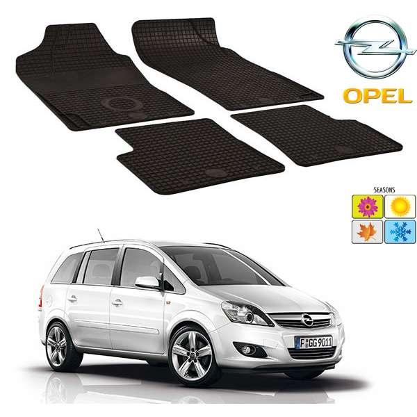 Set covorase auto Hitech din cauciuc Opel Zafira B 2005-2014