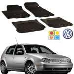Set covorase auto Hitech din cauciuc Vw Golf IV 1998-2005 Hatchback/Variant