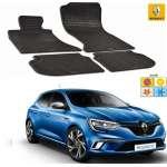 Set covorase auto Hitech din cauciuc Renault Megane 2015-2016