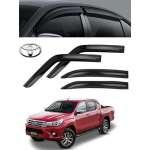 Paravanturi Fata Spate  WeatherTech   Toyota Hilux 2015-2016