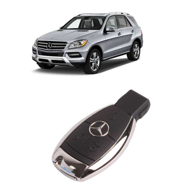 Carcasa Cheie Smart  Mercedes ML 2011-2015