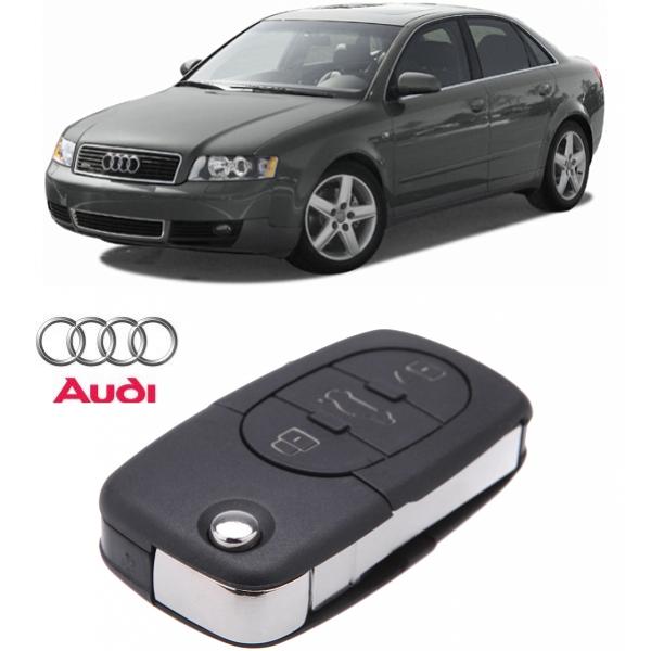 Carcasa Cheie  Audi A4  2000-2005 3 butoane