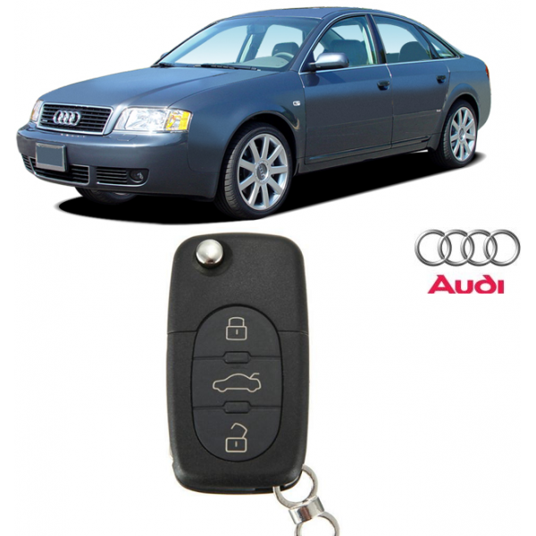 Carcasa Cheie Audi A6 1997-2005 (3 butoane)