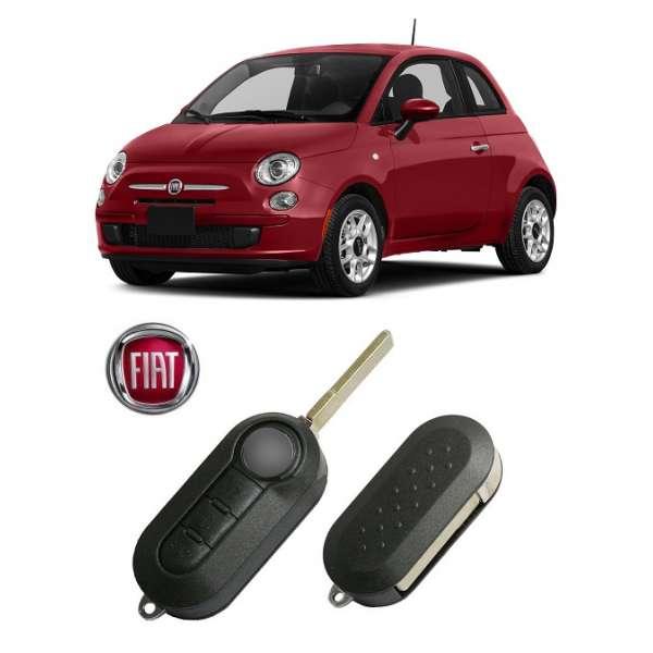 Carcasa Cheie Fiat 500 2009-2015