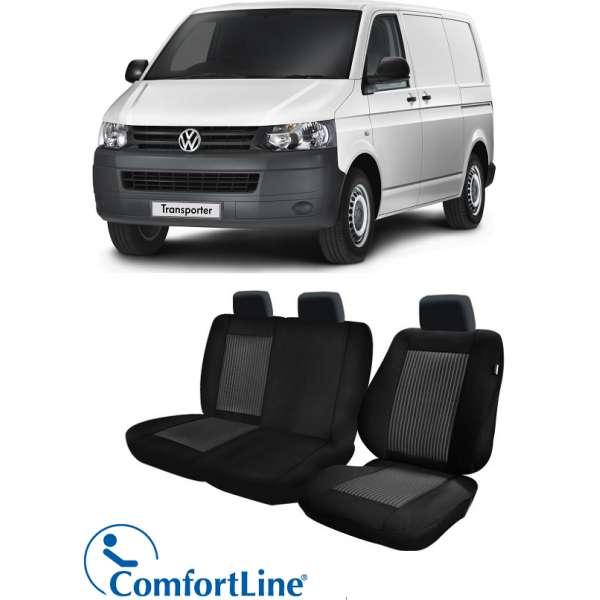 Huse Scaun Vw Transporter 2003-2015 3 locuri  Confort Line