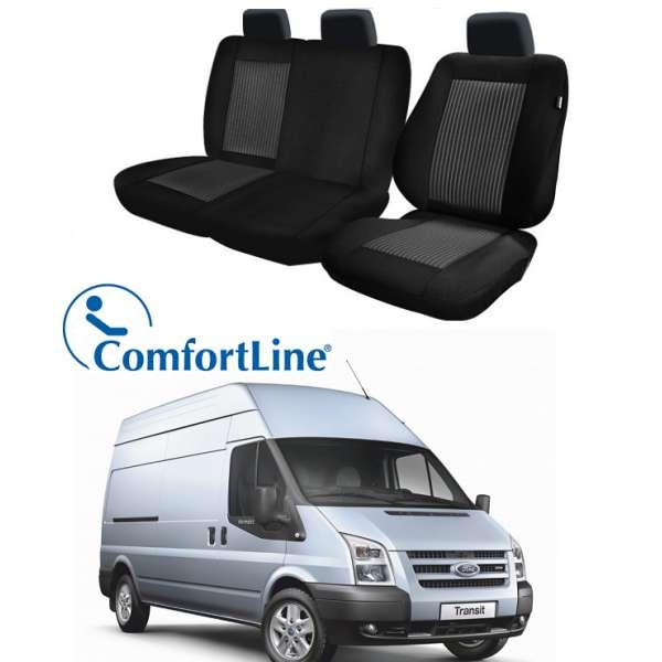 Huse Scaun Ford Transit 2006-2013 3 locuri  Confort Line