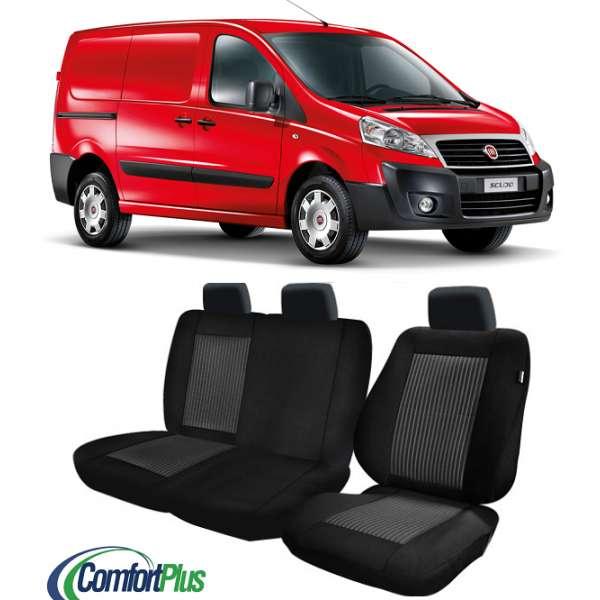 Huse Scaun Fiat Scudo 2007-2015 3 locuri  Confort Line
