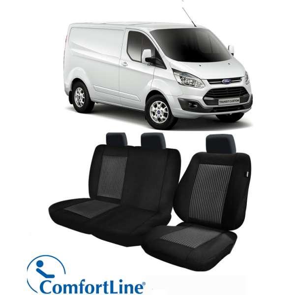 Huse Scaun Ford Transit Custom 2012-2016 3 locuri  Confort Line