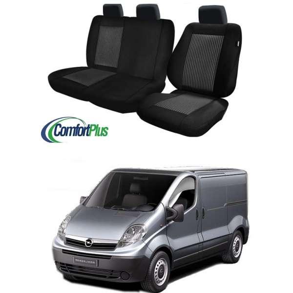 Huse Scaun Opel Vivaro 2002-2013 3 locuri  Confort Line
