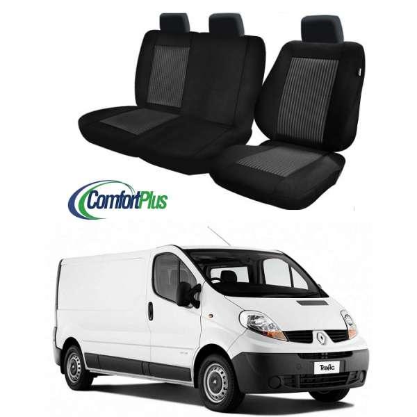 Huse Scaun Renault Trafic 2001-2014 3 locuri  Confort Line