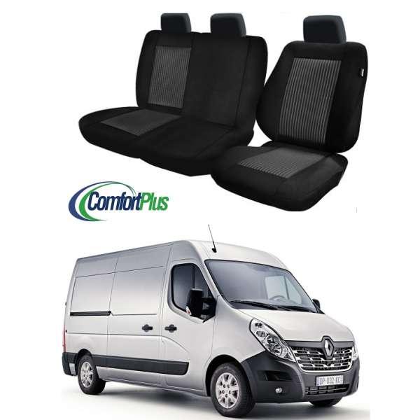 Huse Scaun Renault Master 2010-2016 3 locuri  Confort Line
