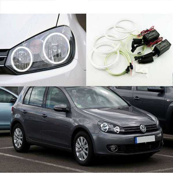 ANGEL EYES PENTRU VW GOLF 6 AN FAB. 2010-2012