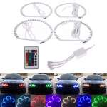 ANGEL EYES MULTICOLOR LED CU 16 CULORI BMW E46 SERIA 3 Berlina/Break
