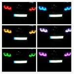 ANGEL EYES MULTICOLOR CU 16 CULORI BMW E46 M3 2001-2006