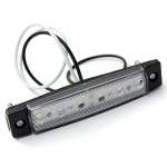 Lampa gabarit 6 LED 12 V lumina alba